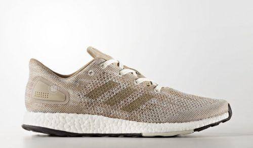Adidas Pureboost DPR Beige Weiß S82013 Größe UK 10.5 EU 45.5