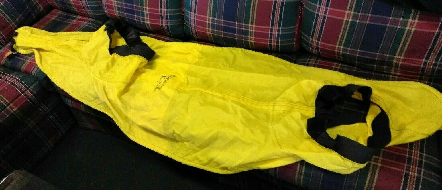 Double Kayak Spirit Skirt Yellow NEW Walden Kayak Zipper