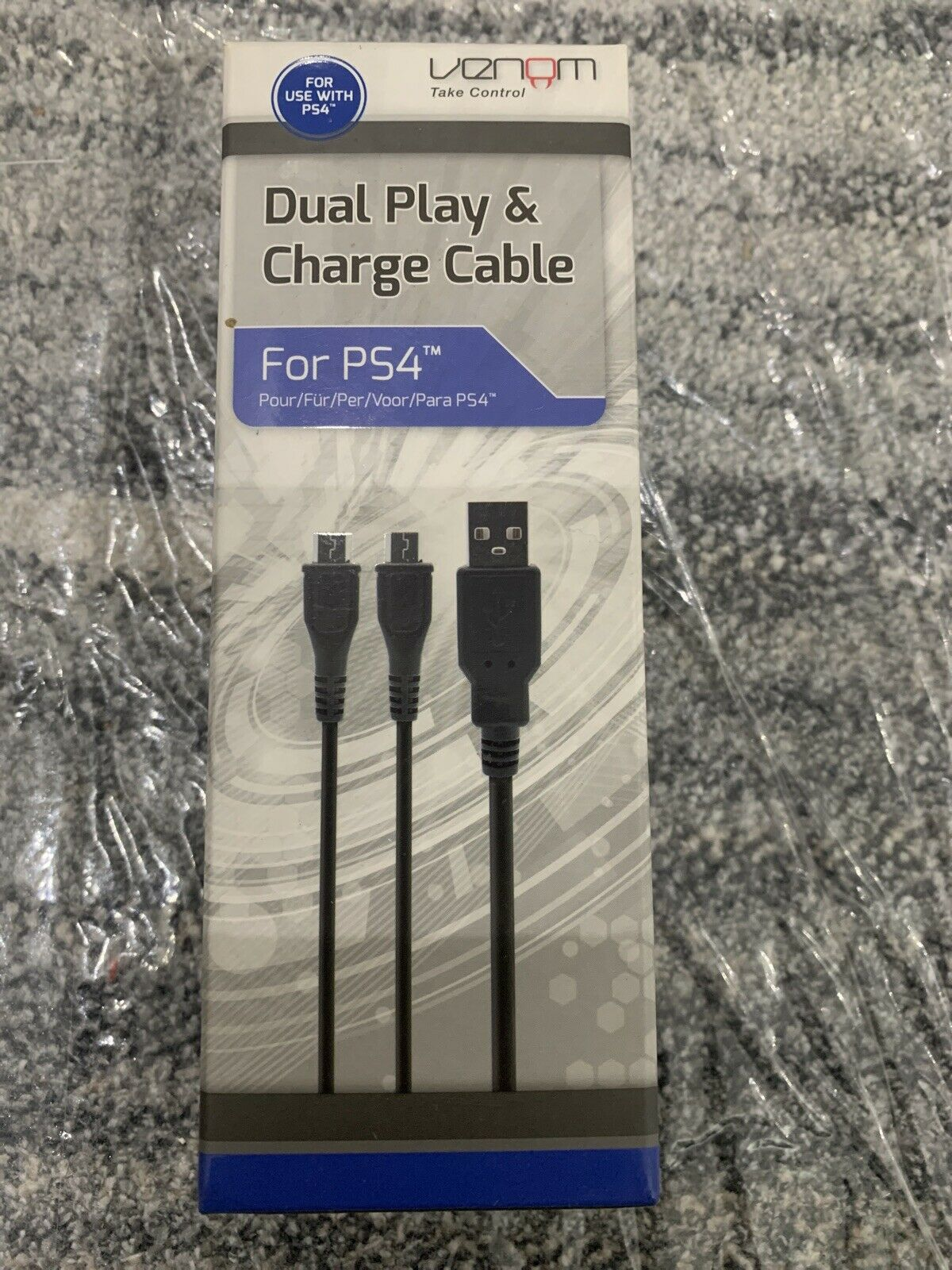 Buy Venom Dual Play and Charge Cable