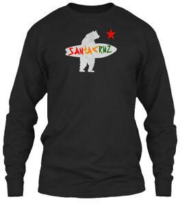 Santa-Cruz-Surf-Bear-Irie-Vintage-Santakruz-Gildan-Long-Sleeve-Tee-T-Shirt