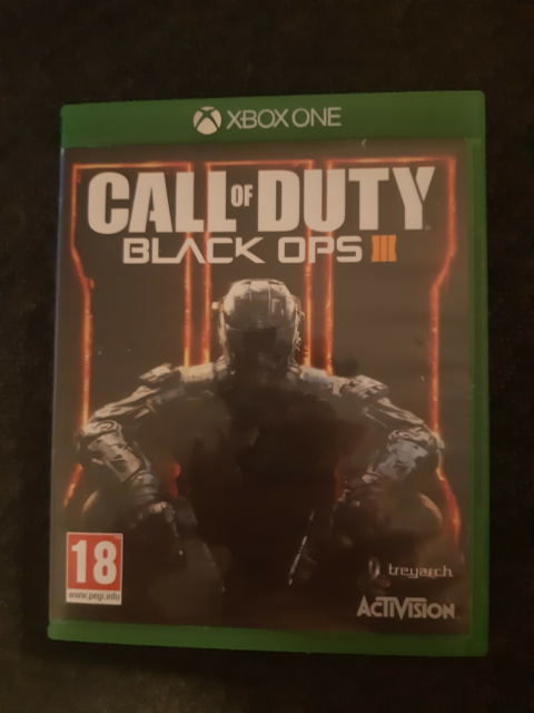 Black Ops 3, Xbox One, FPS, Used, good condition, some…