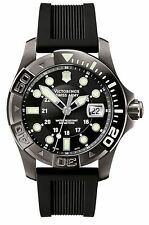 Victorinox Swiss Army 241426 Mens Dive Master 500 Black Ice Black Dial Watch