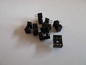 1st CLASS POST 20 x Brand New 8 Pin DIL DIP IC Socket