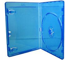 25 x Amaray Blu-ray a singolo casi (15mm) (25 pack) NUOVO RICAMBIO fatta in UK