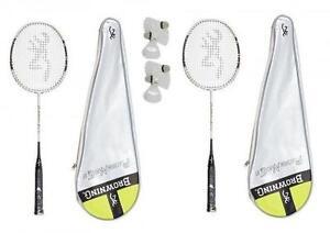 Browning platinum nano 90 carbone badminton raquette 6 carlton navettes rrp £ 250