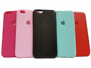 Matte finish + Logo Cut + Soft TPU back case cover for Apple iPhone