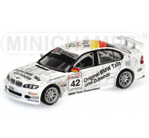 Bmw 320i # 42 Etcc Magny Cours 2003 Double Gagnant Muller 1/43 Minichamps