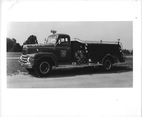 Blackwood Fire Dept pumper truck Blackwood, NJ Orig 8 x10 BW Photo B185