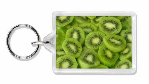 F-F4K Kiwi Fruit Photo Porte-Clé Animal Cadeau