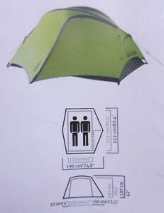 new concept a7917 02908 Details zu Salewa 5715 Micra 2 Personen Zelt cactus grau Kuppelzelt Outdoor  leicht P182