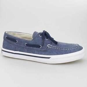 Blue Blau Schuhe Washed Sneaker Segel Ii Navy Boat Sperry Sts17394 Bahama Yx0A0R