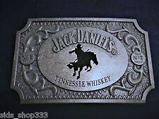 SQH1 Jack Daniels Old No.7 Belt Buckle Horse Western Cowboy Antique silver color