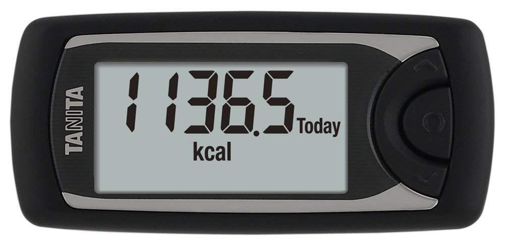Tanita Medidor de actividad calorimus AM-161-BK Negro  Japón Nuevo