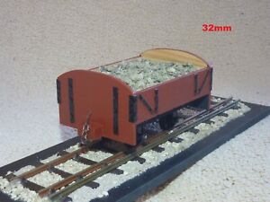 """SM32 16MM/FOOT 1/19TH SCALE """"TIMBER PLANKS"""" NARROW GAUGE 32MM FULLY FINISHED RTR"""