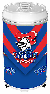 NRL Rugby League NEWCASTLE KNIGHTS Can Bar Fridge for Man Cave Pool cue Room