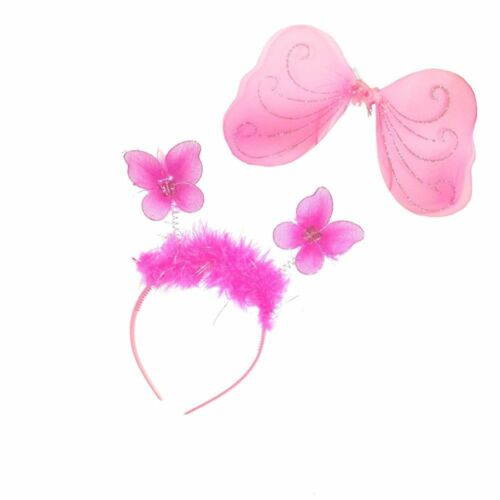Fairy Wing and Headband Set For Kids Girls A Real Little Princess