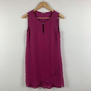 Intimissimi-Womens-Dress-Size-Small-AU-8-Purple-Sleeveless-Intimate-Dress
