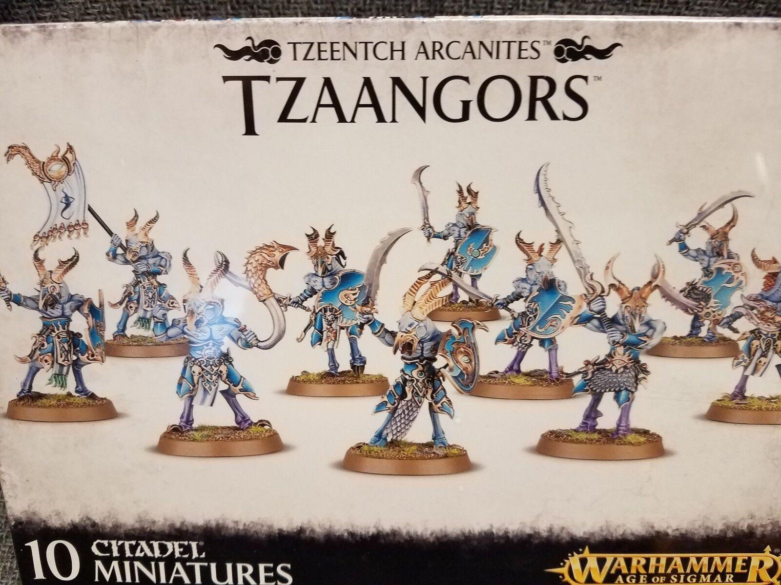 Tzaangors-Tzeentch arcanites caos Warhammer 40k Modelo de taller de juegos  nuevo