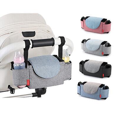 Stroller Bags Mummy Waterproof Hanging Carriage Pram Buggy Trolley Bottle Bag