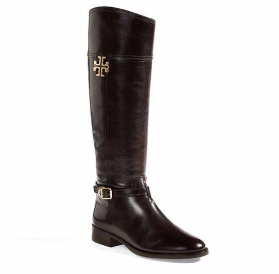 Tory Burch boots shoes Eloise riding nero equestrian riding Eloise boots 7 85c59c