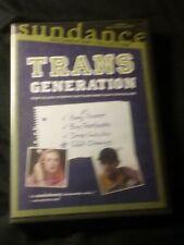 Transgeneration DVD Transsexual College Documentary Sundance Logo