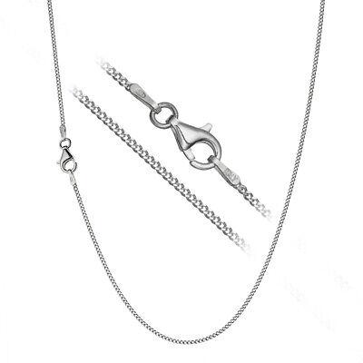 """.925 Argent sterling Câble Chaîne Collier 1.7 mm 16/"""" 20/"""" 18/"""""""