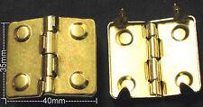 1 Paar Scharnier NEU  Farbe: GOLD Kofferscharnier TOP Kistenscharnier Täschner
