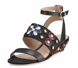 9d4fa58b8 New Tory Burch Estella Wedge Ladies Strap Shoes - Size 7 - Style ...