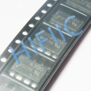 5PCS HCPL-3120 A3120 2.5 Amp Output Current IGBT Gate Drive Optocoupler SOP8
