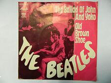 The Beatles  BALLAD OF JOHN AND YOKO / OLD BROWN SHOE 7'' Single Apple