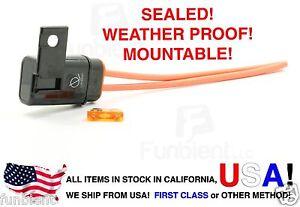 Weather-Proof-Sealed-ATO-ATC-Fuse-Holder-12AWG-Gauge-5A-Fuse-Car-Boat-marine