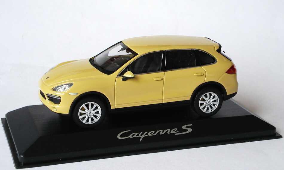 productos creativos PORSCHE CAYENNE S II TYP 92A 2010 amarillo MINICHAMPS WAP0200060B WAP0200060B WAP0200060B 1 43 amarillo GALIA  estilo clásico