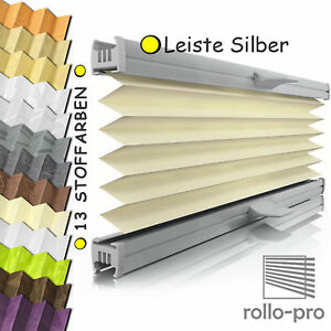 plissee faltrollo ohne bohren plisee nach ma klemmfix figurado profil silber ebay. Black Bedroom Furniture Sets. Home Design Ideas