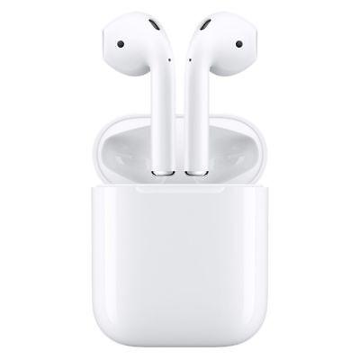 Apple Airpod NUOVO al mmef Wireless 2 Bluetooth airpods minuto Autentico NUOVO scatola Bianco raqxYrwX