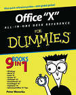 Office 2003 All-in-one Desk Reference for Dummies by Peter Weverka (Paperback, 2003)