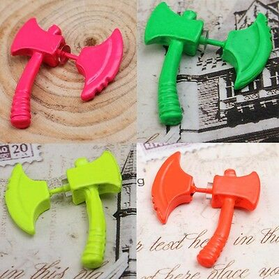 1pc Punk Cool Ax/Hatchet Ear Stud Earring Unisex Unique Fashion Piercing Jewelry