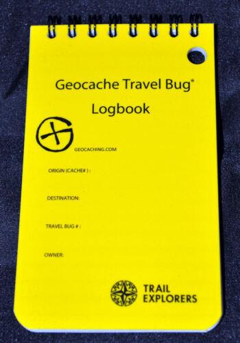 Geocache Da viaggio Bug Giornale di bordo Rite in the Rain