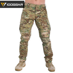 IDOGEAR-Field-Tactical-Pants-CP-Hunting-Trousers-Airsoft-Combat-Camo-MultiCam