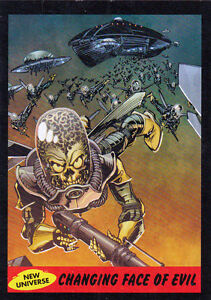 2012-TOPPS-MARS-ATTACKS-HERITAGE-NEW-UNIVERSE-CARD-10-CHANGING-FACE-OF-EVIL