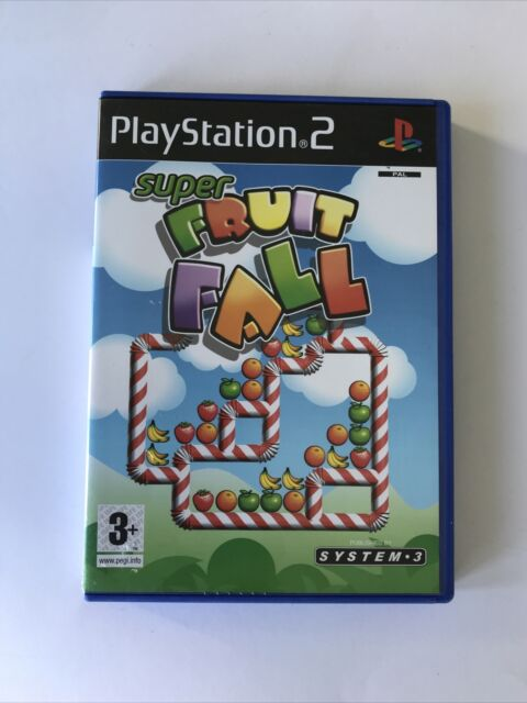 PlayStation PS2 Game: Super Fruit Fall (G) Includes Manual PAL, Free Postage!