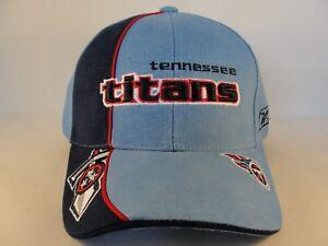 6afc72561d5ee2 Tennessee Titans NFL Reebok Pro Line Adjustable Strap Hat Light Blue ...