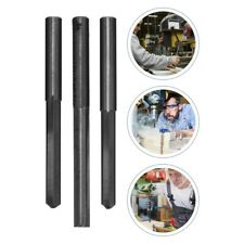 3pcs Tungsten Steel Portable Straight Mill Cutters For Mdf Pvc Acrylic Chipboard