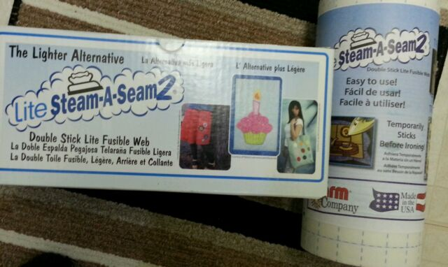 "Warm Company Steam-A-Seam 2 Double Stick Fusible Web-9/""X12/"" 5//Pkg FOB: 3Pk"