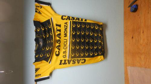 NEW OLD STOCK Casati XL ticiesse Jersey à manches courtes Como Italie neuf dans sac