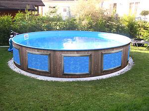 Poolaufkleber poolverkleidung pool design for Stahlwandpool angebot