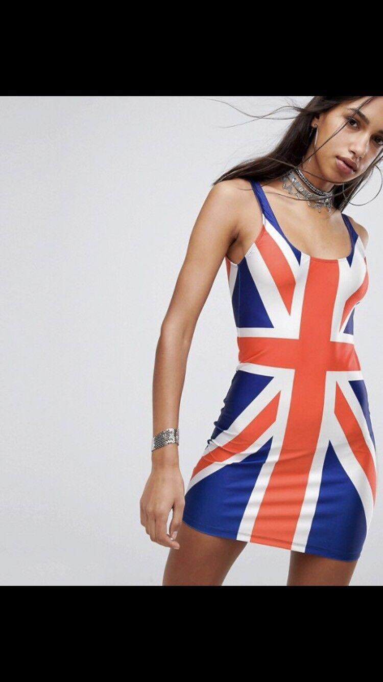 Jade London British Flag Englamd Dress S