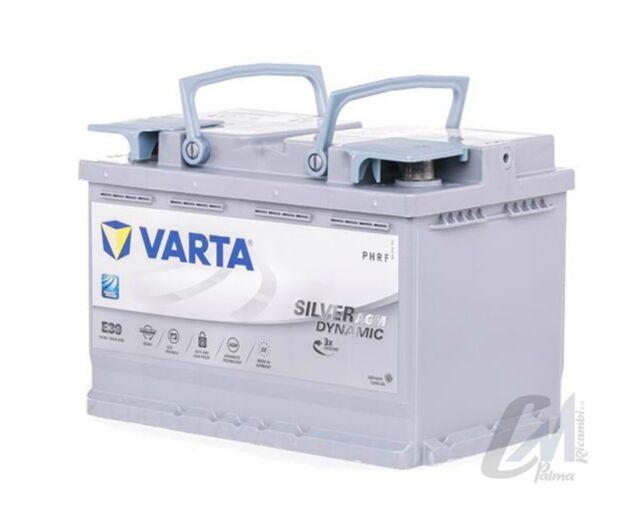 BATTERIA VARTA E39 AGM START-STOP PLUS 70AH 760A POLO + DX AUDI VW