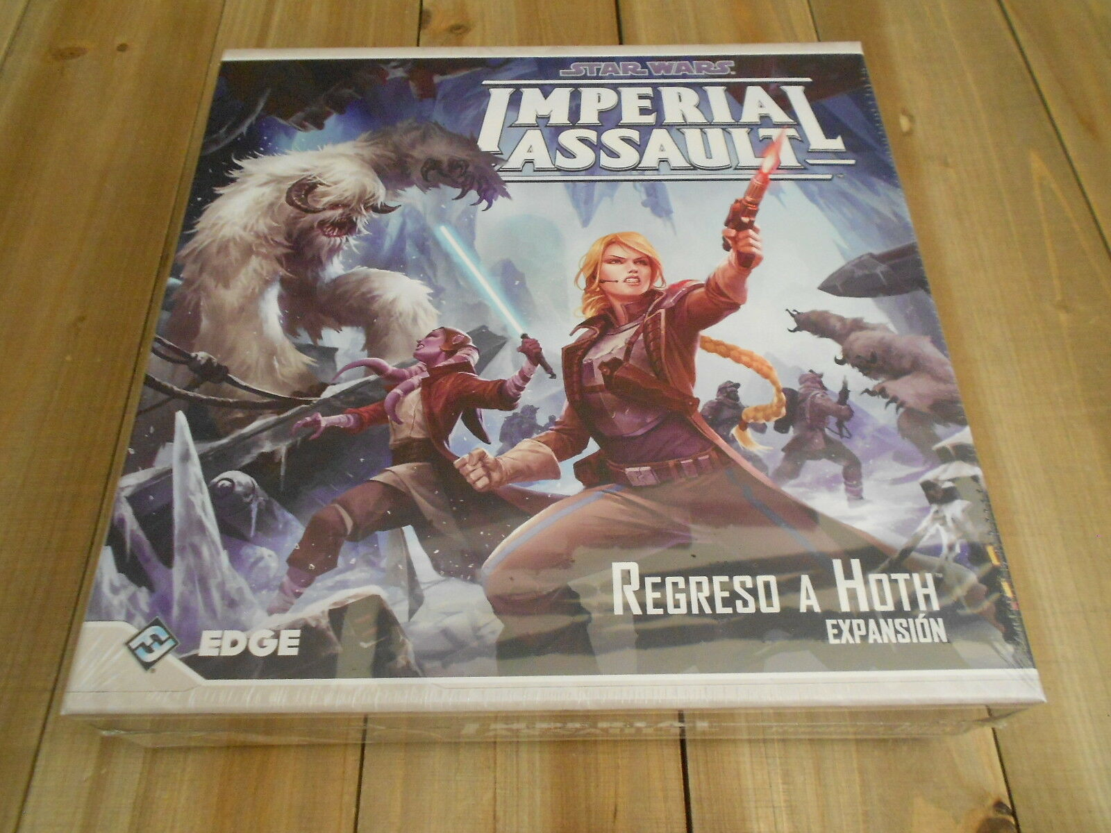 STAR WARS IMPERIAL ASSAULT - Return to Hoth - expansion - EDGE - set table