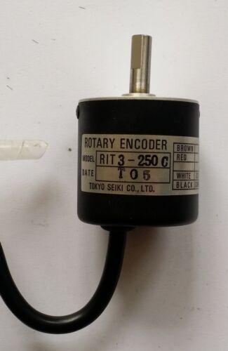 RIT 3-250C TOKYO SEIKI 1pcs Rotary Encoder
