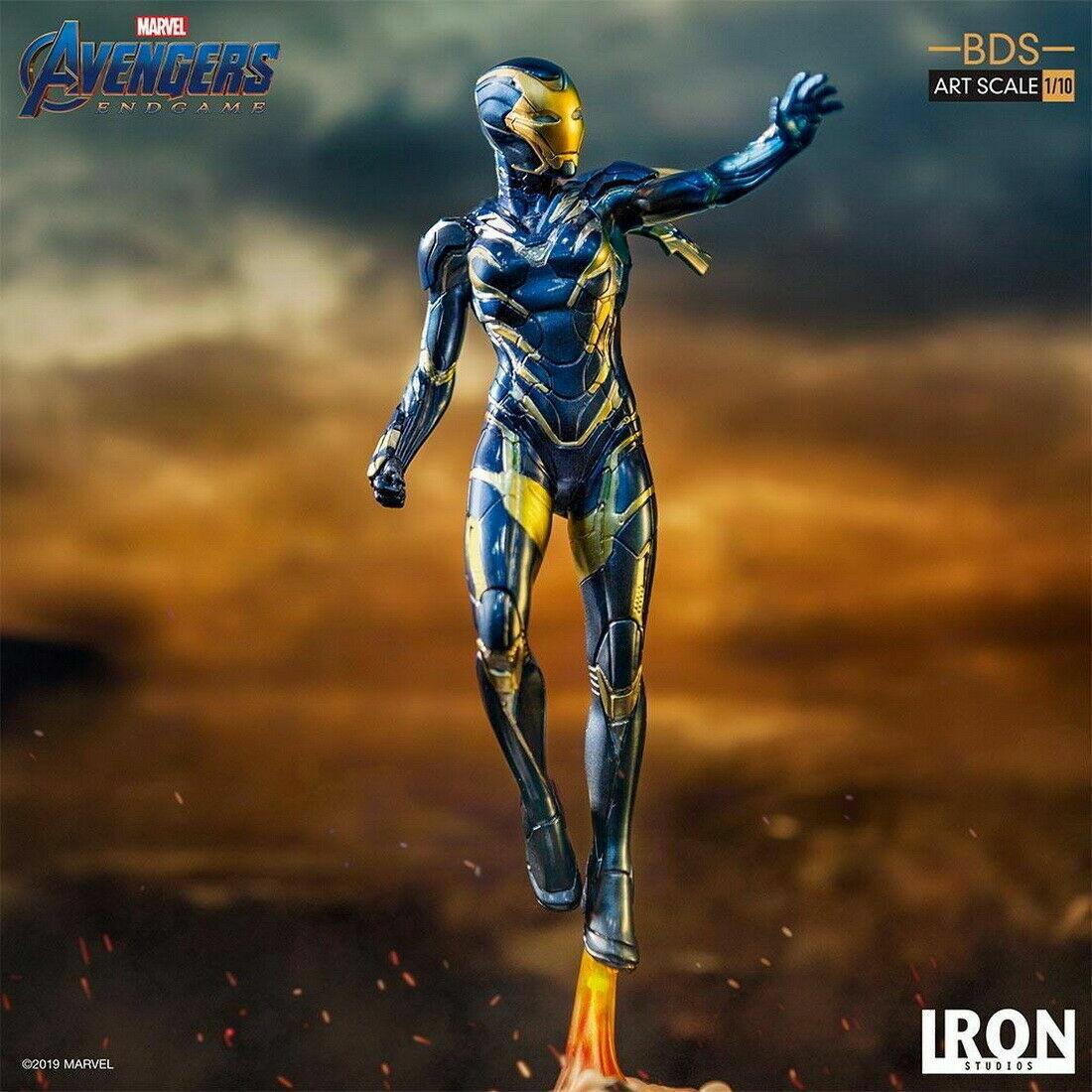 Iron Studios 1 10 Vengadores  Tacho Pepper Potts en traje de rescate estatua Collection